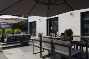 Gartenmöbel aus Aluminium