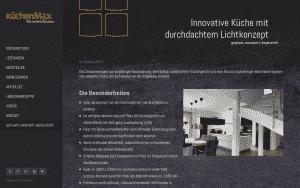 Küchen Max Küchenstudio Website Screenshot