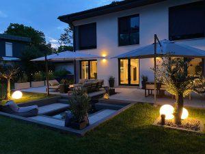 Stilvolle Außenbeleuchtung für den Garten
